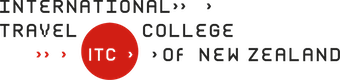 The International Travel College of New Zealand logo