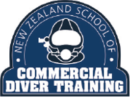 NZ School of Commercial Diver Training logo