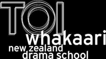 Te Kura Toi Whakaari O Aotearoa:  New Zealand Drama School logo