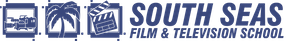South Seas Film and Television School logo